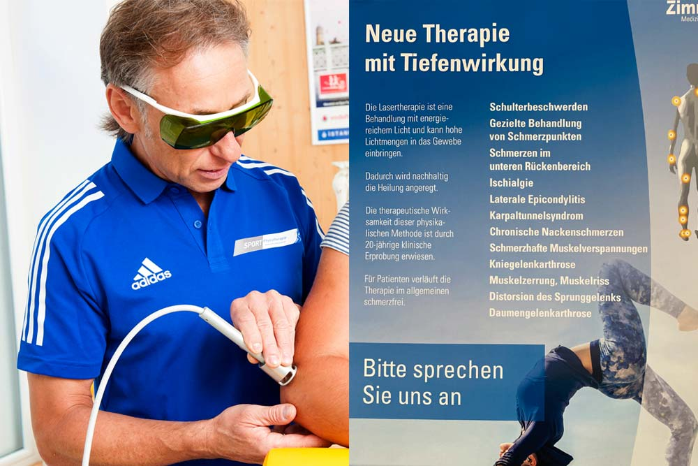 Lasertherapie Meichsner